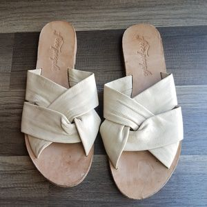 "Free People ""Rio Vista"" Slide Sandals"